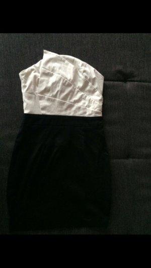 Schickes schwarz weis Kleid