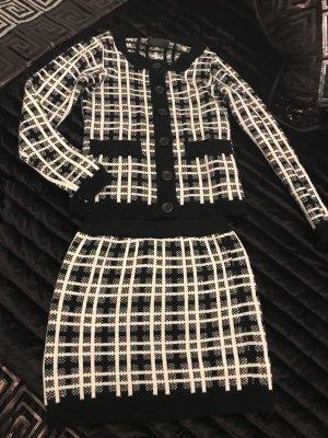 Ladies' Suit black-white