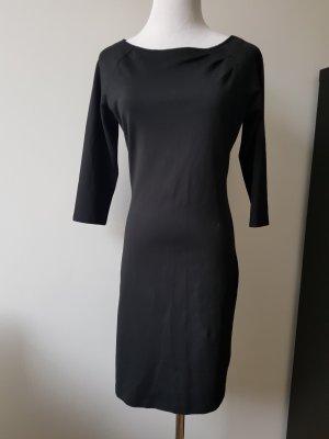 Schickes schwarzes Kleid aus Jersey