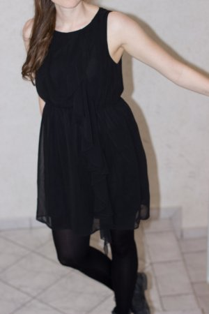 Schickes schwarzes Kleidchen von H&M Allrounder Gr. S/M Silvester Party