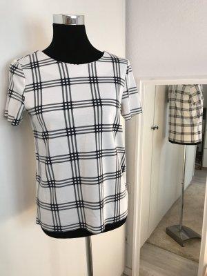Schickes Shirt in weiß schwarz