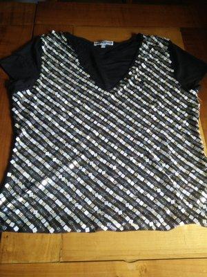 Schickes Shirt mit Pailletten von CERRUTI in Größe 40