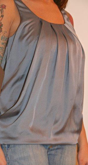 Schickes silberfarbene Oberteil