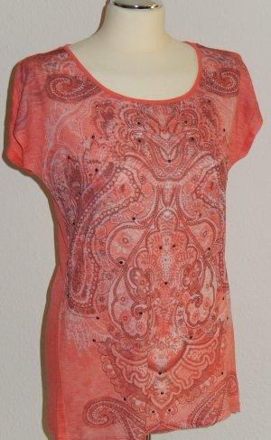 Schickes Slub-Shirt mit Muster - NEU!!