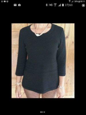 Schickes Sweatshirt in schwarz