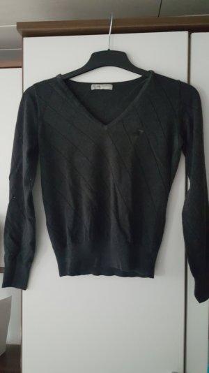 Schickes Sweatshirt mit V-Ausschnitt