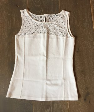 Crochet Top white