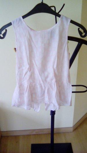 Schickes Top in rosa und weiß