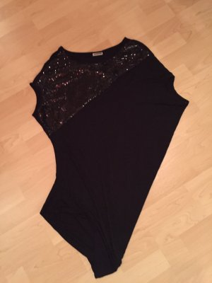 Noisy May Top zwart Viscose