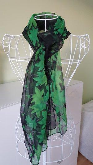 Silk Cloth black-green