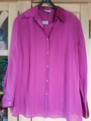 Canda Long Sleeve Blouse violet