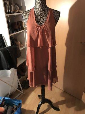 3 Suisses Vestido de cóctel burdeos