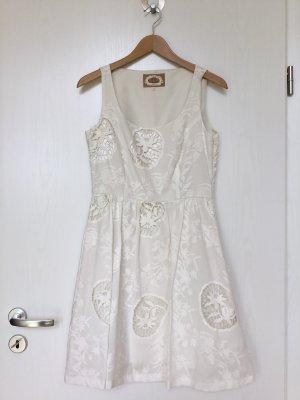 Avoca Robe en dentelle blanc