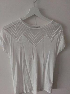 schickes weißes T-shirt