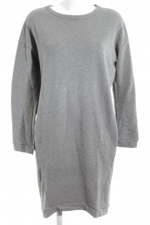Schiesser Sweat Dress light grey flecked casual look