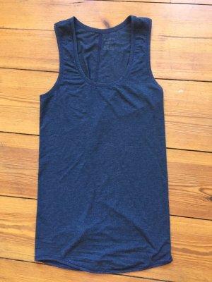 Schiesser-Unterhemd, Tank-Top, Jersey, blau, neu, Gr. s