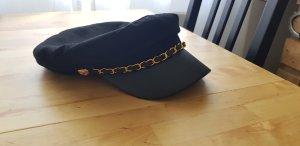 Atmosphere Sombrero de tela negro-color oro