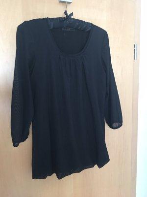 Schiffhauer Slip-over blouse zwart