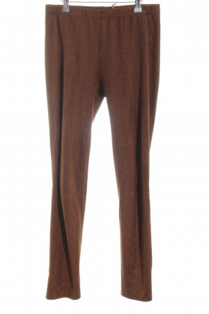 Schiffhauer Legging brun imprimé allover style décontracté