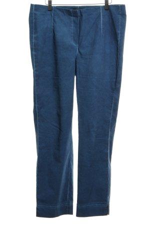 Schiffhauer Pantalón de campana azul acero look casual