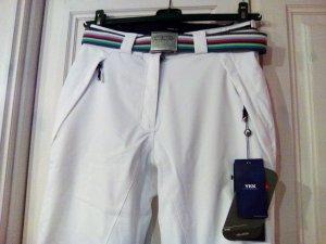 Head Snow Pants black-white synthetic fibre
