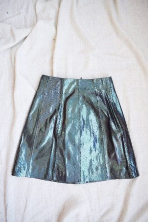 Asos High Waist Skirt multicolored imitation leather