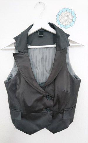 Vero Moda Gilet de costume gris synthétique