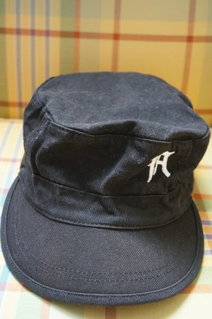 s.Oliver Baseball Cap black-white cotton