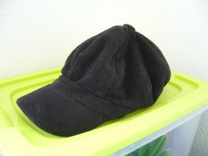 Schirmmütze Kappe Baker Hat schwarz one size filzartig