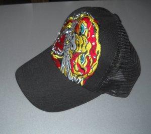 Sombrero de tela multicolor