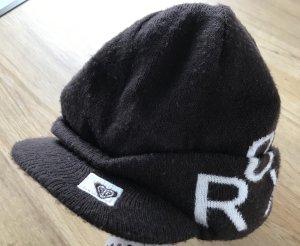 Roxy Cappello con visiera marrone scuro-bianco