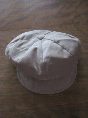 Schirmmütze / Schirmkappe von Wegener, 57 cm, beige