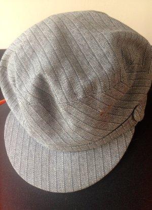 Diesel Sombrero de tela gris claro-gris