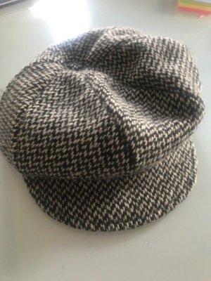 MAYSER Visor Cap black-natural white new wool