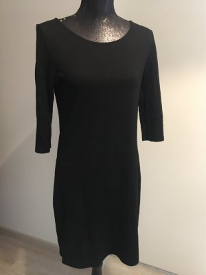 Opus Vestido estilo camisa negro