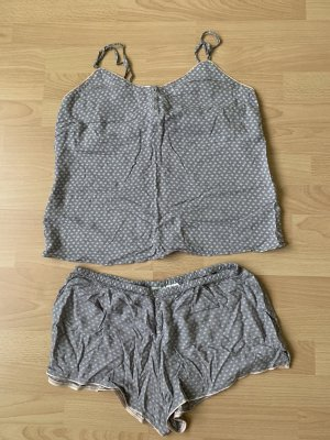 H&M Pyjama light grey-grey