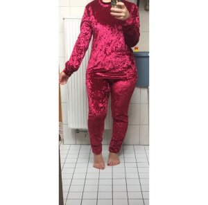 Pyjama rouge fluo