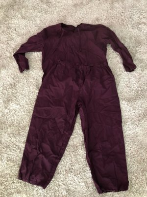 Schlafanzug Pyjama Gr 42 44 L/XL lila