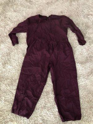 Tchibo / TCM Pijama violeta amarronado