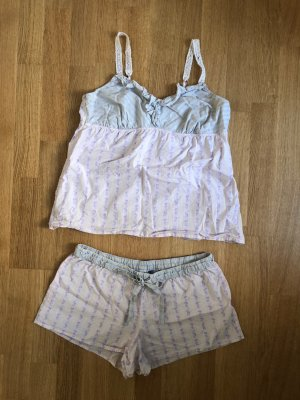 Schlafanzug Pyjama Hose Top Oberteil Sleepwear GAP Shorts Set