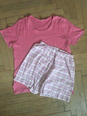 Schlafanzug | Pyjama in Himbeerfarben von Calida
