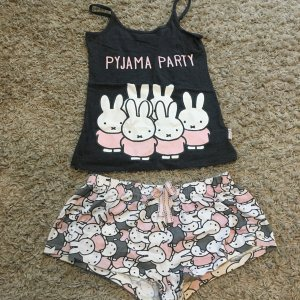 Schlafanzug Pyjama Set neu