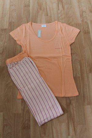 Schlafanzug Pyjama Shorty Gr. 38