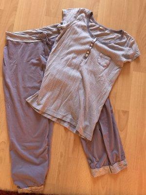 Schlafanzug Relaxen Flieder 34/36
