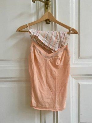 Schlafanzug | Schlafset | Pyjama apricot von Etam