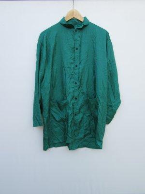 Schlafanzug Vintage Hose + Oberteil grün Retro Gr.S/M