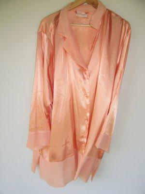 Schlafanzug Vintage Hose +Oberteil Retro Satin Ulla Popken Gr. 50