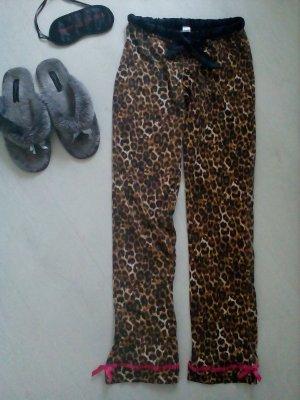 Schlafanzughose im Leopardenmuster
