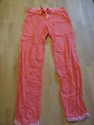 H&M Pyjama rouge-saumon