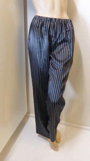 Pyjama noir-blanc polyester